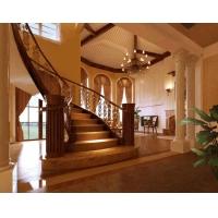 钢木楼梯 铁艺楼梯 model-1
