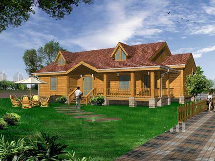 实木别墅房屋