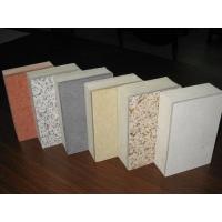 石材复合聚氨酯保温板不燃型聚氨酯复合装饰板
