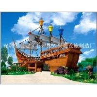 惠州景观木船\景观船\景观船船帆