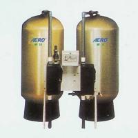 """玻璃钢离子交换装置(采用""""Autotrol""""阀控制)"""