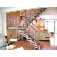 南京楼梯-柏雅居楼梯-钢木楼梯