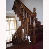南京实木楼梯-南京柏雅居楼梯
