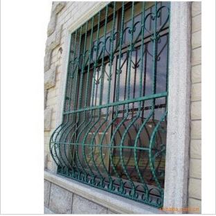 铁艺防盗窗 阳光房 铝合金门窗 封阳台 办公隔断