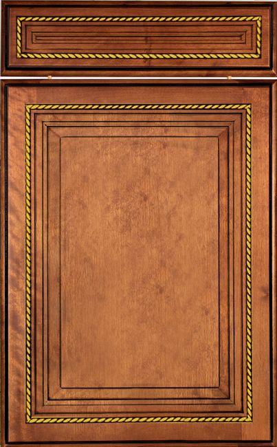 欧式实木橱柜门型