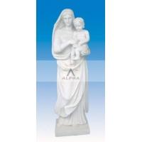 大理石人物雕像  汉白玉人物雕像 汉白玉雕像 汉白玉母子像