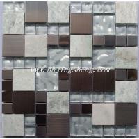JSMC0121金属+水晶混合马赛克