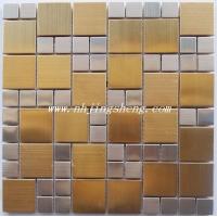 JSO15.金色和银色混合的金属马赛克