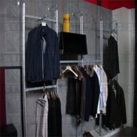 立柱式服装展示架