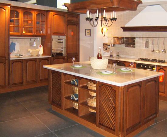 格兰橱柜仿古实木系.; 格兰; 建材家具