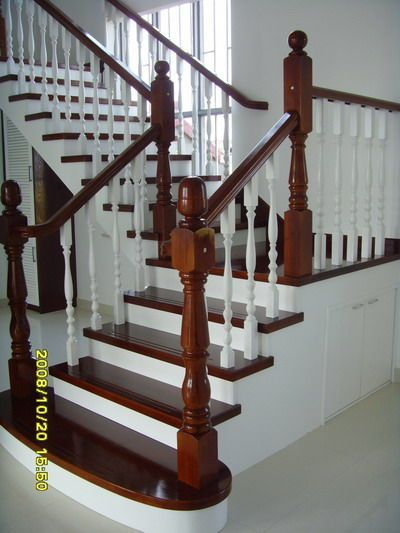 供应天津U型实木楼梯