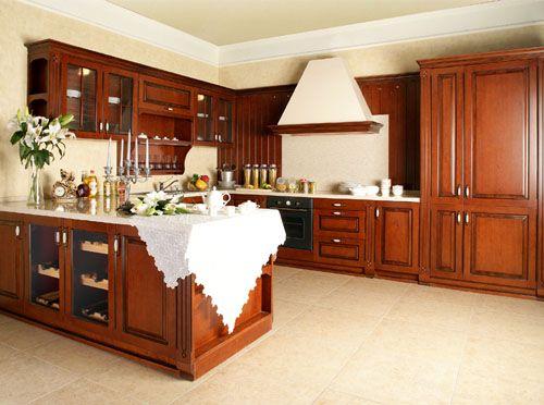 橱柜实木橱柜石英石台面整体厨房厨柜定做橱柜产品图片,橱柜实木橱