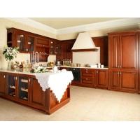 橱柜实木橱柜石英石台面整体厨房厨柜定做橱柜