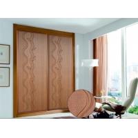 山东烟台衣柜门双工艺同色浮雕衣柜门新款浮雕木雕衣柜门