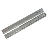 27mm两节可双向抽动钢珠滑轨