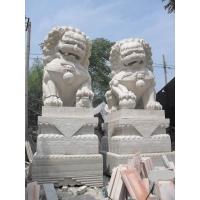 武漢石獅子/漢白玉石獅子