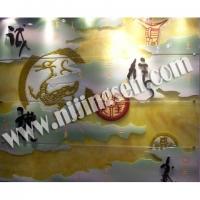 玻璃-南京玻璃-南京艺术玻璃-南京彩雕玻璃-南京尖森艺术玻璃