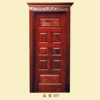 雕花门丨西安室内门|西安实木门