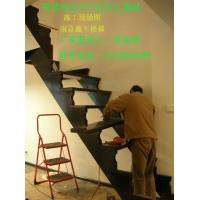 南京楼梯-鑫丰楼梯钢架楼梯 实木楼梯 XF-A02
