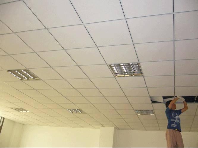 各种矿棉板吊顶 上海办公室装修吊顶的厂家、价格、型号、图片、产