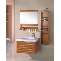 拓陶卫浴进口橡木浴室柜 挂墙式组合卫浴柜洗面盆