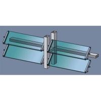 創明窗飾-戶外遮陽板系列-玻璃百葉