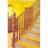 南京楼梯-高升楼梯-立柱扶手