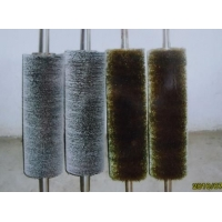 201#、301#等弹簧钢丝刷、不锈钢丝弹簧刷、刷辊