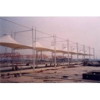 海口连球场遮阳棚工程