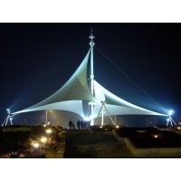 广场公园景观张拉膜结构