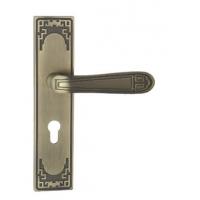 室内门欧式铝合金执手锁-机械门锁