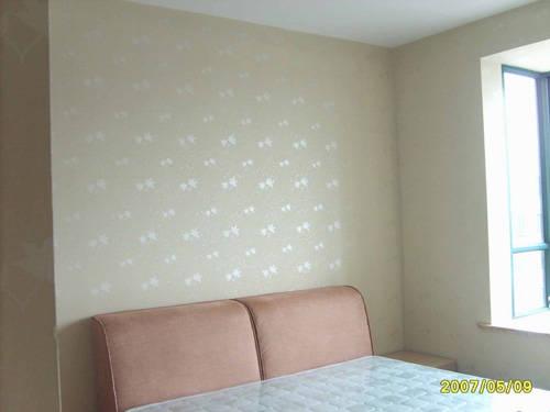 卧室欧式艺术漆装修图片