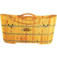 草木香香柏木月泉泡澡桶、洗澡桶