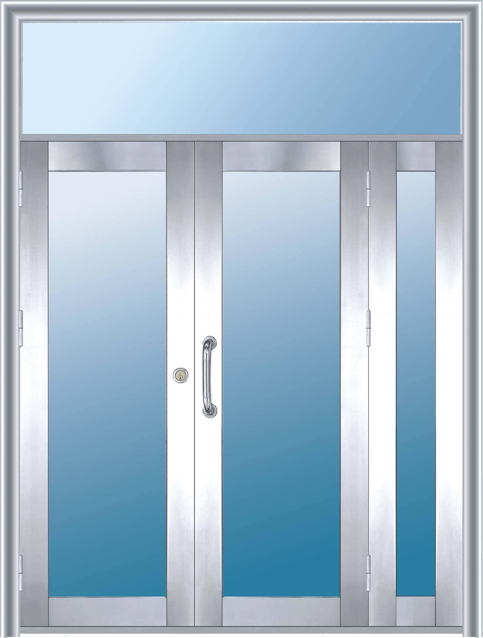 不锈钢对开门产品图片,不锈钢对开门产品相册 - 青岛