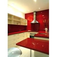红色石英石,台面,工程报价,石英石台面