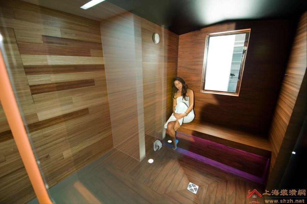 木塑生态木地板 生态木拼装浴室地板70
