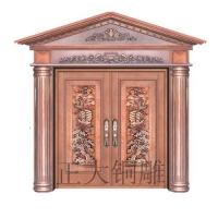 正馨达,室外门,大门,仿古铜门,标准门,非标门,双开门