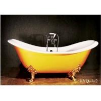 铸铁浴缸厂家供应古典系列铸铁搪瓷浴缸及各种搪瓷浴缸