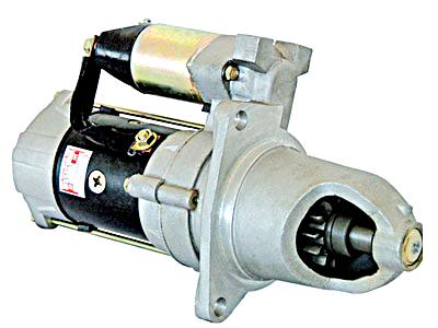三菱6D22起动机发电机高清图片