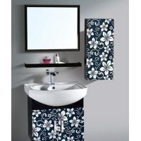美式家居304不锈钢浴室柜材质 不锈钢卫浴柜落地使用门板建材