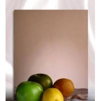 彩色不锈钢玫瑰金抛光镜面板