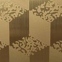 浙江不锈钢拉丝蚀花板,电梯板,无指纹拉丝板