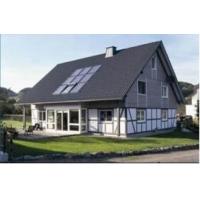 上海镁双莲屋顶镶嵌式平板式太阳能热水器