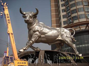 武汉韵城雕塑郑州市不锈钢雕塑公司 ,铸铜锻铜雕塑,玻璃钢雕塑产