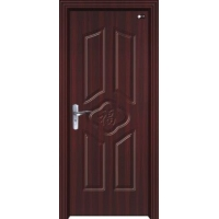 高档室内贴木皮烤漆门 实木门