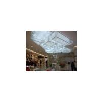室内广告喷绘膜展会精印膜办公透光膜环保软膜天花吊顶