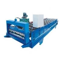 1100型偏弧琉璃瓦压瓦机