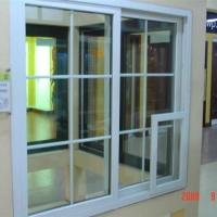 实德80系列塑钢推拉窗 北京塑钢门窗