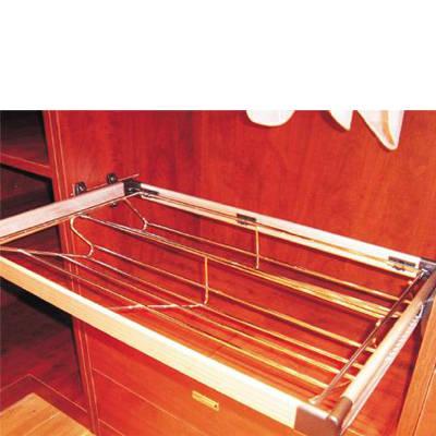 好莱客衣柜 衣柜内部内置铝合金组合鞋架