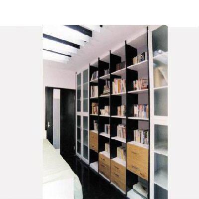 好莱客衣柜-整体书柜-多功能组合书柜